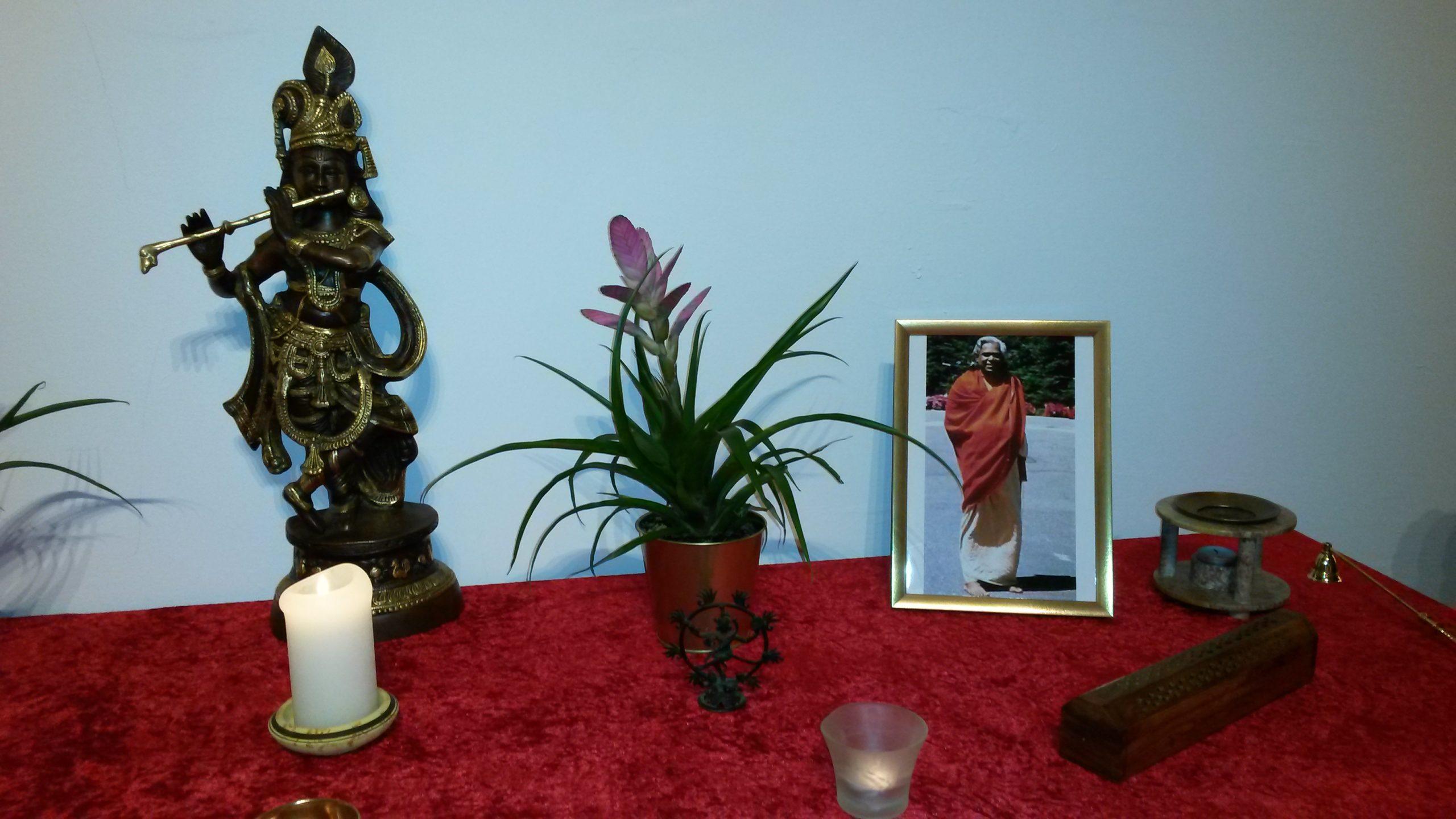 Altar Yoga Vidya Kassel